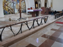 prezbiterium granit